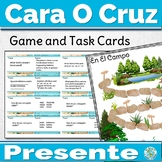 Spanish Present Tense Game Cara o Cruz