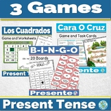 Spanish Present Tense Games and Activities Bundle 1