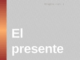 Spanish Present Tense Notes Presentation