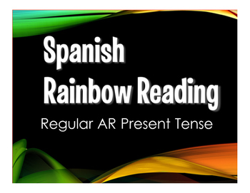 Spanish Present Tense Regular AR Stations