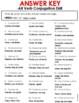 Spanish Present Tense Regular Verb list and drills