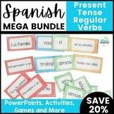 Spanish Present Tense Regular Verb Resource Bundle