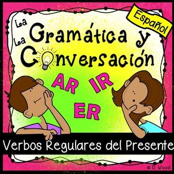 Spanish Present Tense (AR, ER & IR)