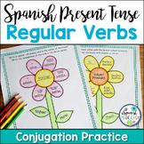 Spanish Present Tense Regular Verbs Conjugation Practice