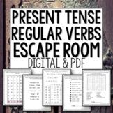 Distance Learning Present Tense Spanish Regular Verbs Brea
