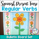 Spanish Present Tense Regular Verbs Bulletin Board Set