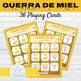 Spanish Present Tense Regular Verbs Game GUERRA DE MIEL