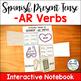 Spanish Present Tense Regular Verbs Interactive Notebook Activity Bundle