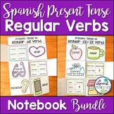 Spanish Present Tense Regular Verbs Interactive Notebook A