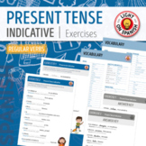 Spanish Present Tense Regular Verbs Quizzes