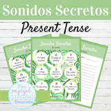 Spanish Present Tense Sonidos Secretos Speaking Activity