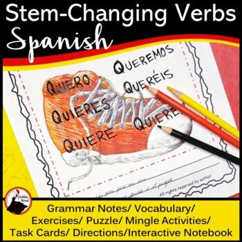 Spanish Stem-Changing Verbs