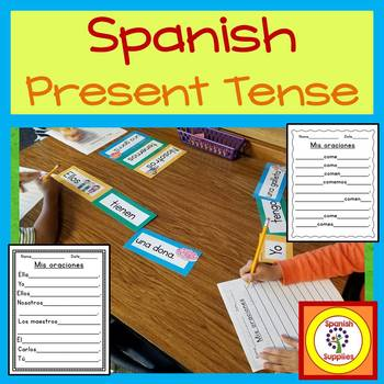 Spanish Present Tense - TFL and Dual Language applications