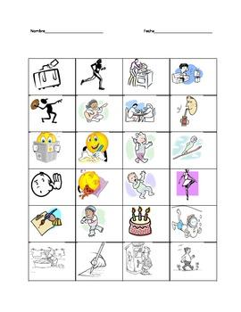 Spanish Present Tense Verb Differentiated Activities
