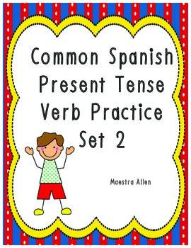 Spanish Present Tense Verb Practice Set 2