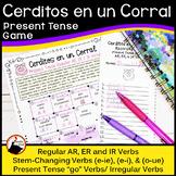 Spanish Present Tense Verbs Activities