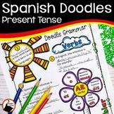 Spanish Present Tense Verbs Doodle Grammar
