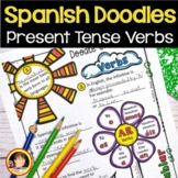 Spanish Worksheets | Spanish Present Tense Verbs