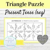 Spanish Present Tense Regular Verbs Puzzle