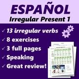 Español: Presente de verbos irregulares (Spanish: Present