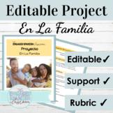 Spanish Family Vocabulary Presentation Project