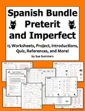 Spanish Preterit and Imperfect Mega Bundle of 2 Bundles