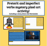 Spanish Preterit vs Imperfect past tense Mystery Picture - influential person