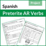 Spanish Preterite AR Verbs Powerpoint/Booklet Project