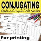 Spanish Preterite Activities Deslicense y Agarralo