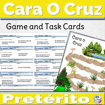 Spanish Preterite Activity Cara o Cruz