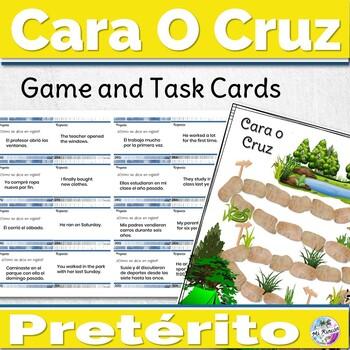 Spanish Preterite Game Cara o Cruz