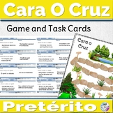 Spanish Preterite Game Cara o Cruz