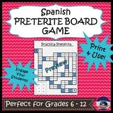 Spanish Preterite Board Game