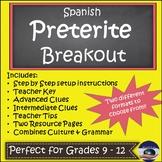 Spanish Preterite Breakout EDU