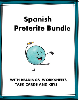 Spanish Preterite Bundle: Pretérito - 8 Resources at 40% off!