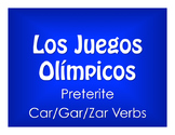 Spanish Preterite Car Gar Zar Olympics