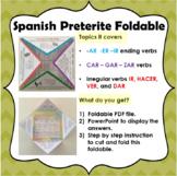 Spanish Preterite Foldable