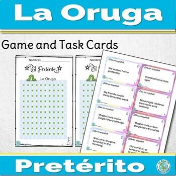 Spanish Preterite Game La Oruga