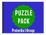 Spanish Preterite I Group Puzzle Pack