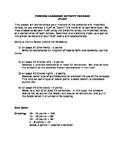 Spanish Preterite & Imperfect Activity Project