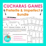 Preterite & Imperfect ¡Cucharas! Games BUNDLE  | Spanish R