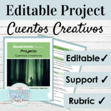 Editable Spanish Project | Preterite Imperfect Storybook