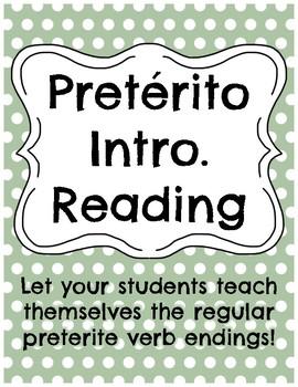 Spanish Preterite Intro Reading Passage