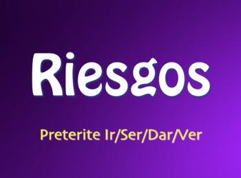 Spanish Preterite Ir Ser Dar Ver Jeopardy-Style Review Game