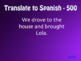 Spanish Preterite J Group Jeopardy-Style Review Game