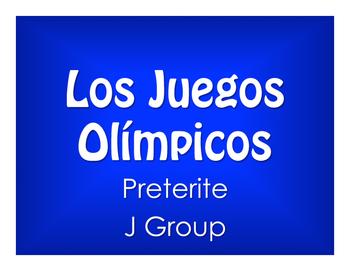 Spanish Preterite J Group Olympics