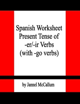Spanish Preterite Practice - Regular -er/-ir Verbs