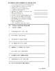 Spanish Preterite Practice Sheet - No Prep -Printable -All preterites -Translate