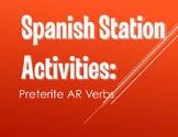 Spanish Preterite Regular AR Stations