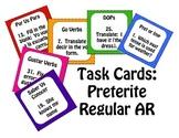 Spanish Preterite Regular AR Task Cards